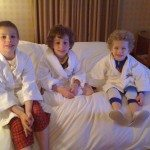 My boys at the Hotel Sofitel Philadelphia |Photo Credit Jersey Family Fun