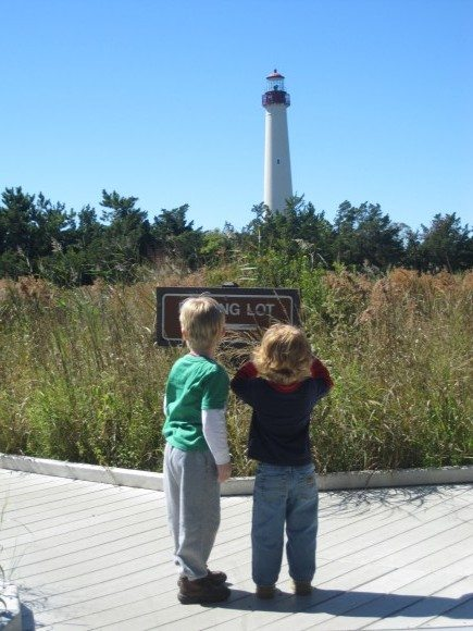 Viewing the Cape May Lighthouse at Cape May Point State Park