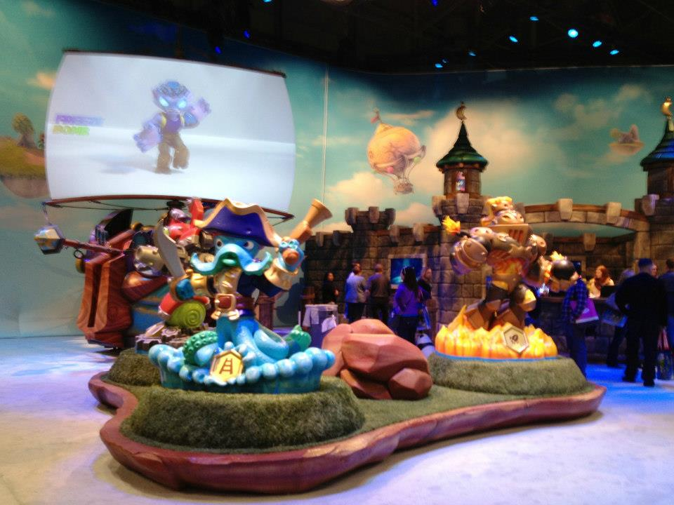 The Amazing Skylanders SwapForce exhibit.