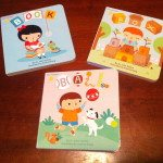 These are the three books I was sent from Baby Unplugged by Blue Manatee Press