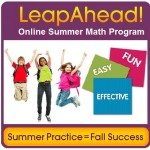 Leap Ahead this summer in math!