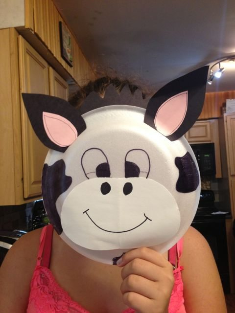 how tomake a cow costume