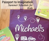 Michaels Passport to Imagination offers so many exciting and fun crafts for kids to enjoy!