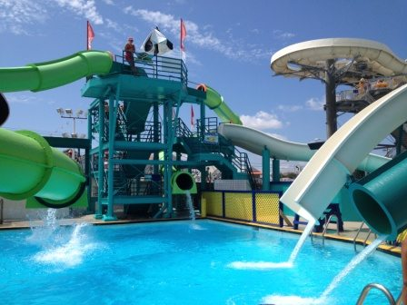Breakwater Beach Water Slides