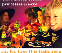 Eat for Free Halloween