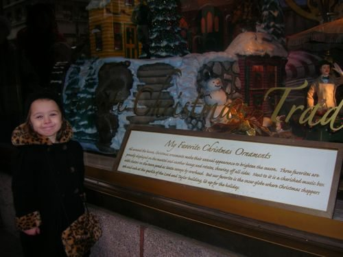 A Lord and Taylor window from years past.