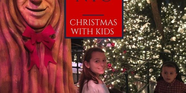 Tips for Visiting NYC at Christmastime … with kids!