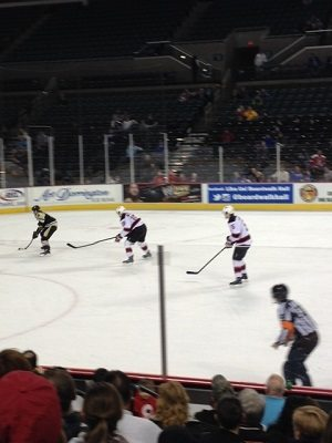 AHL Hockey Devils vs Penguins