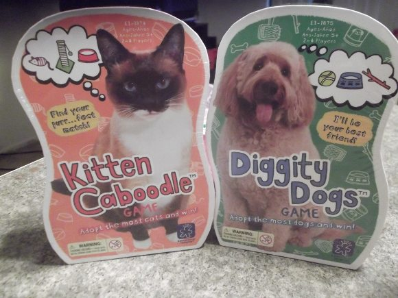 Kitten Kaboodle & Diggity Dog from Educational Insights