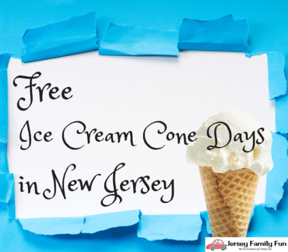Free Ice Cream Days in New Jersey