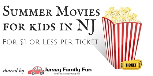 New Jersey Free Movies & $1 Movies for Families by County