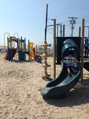 Municipal Beach Park in Somers Point, Atlantic County Parks and Playgrounds