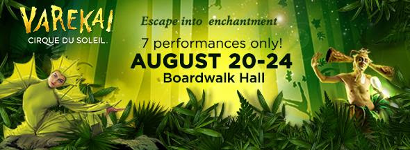 Varekai by Cirque du Soleil Comes to Atlantic City's Boardwalk Hall ~ Details & 1 DAY Discount Code