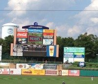 First Energy Ball Park Sign