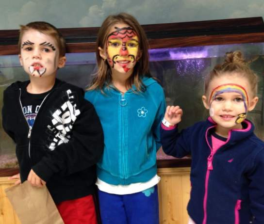 tuckerton face paint