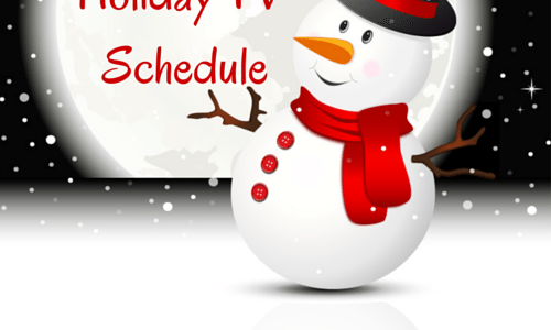 2014 Holiday TV Shows Schedule