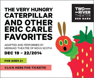 """The Very Hungry Caterpillar and Other Eric Carle Favorites"" Comes to Two River Theater"