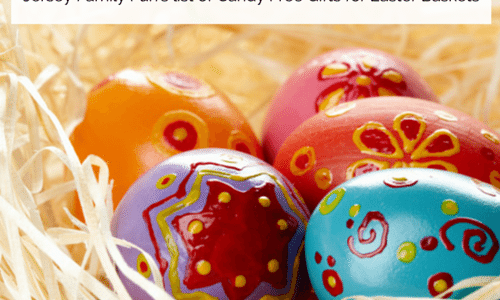 Eggcellent Easter Gift Ideas ~ Candy Free Gifts for Easter Baskets
