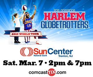Win Tickets to the Harlem Globetrotters at the Sun National Bank Center