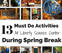Liberty Science Center collage