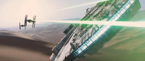 STAR WARS THE FORCE AWAKENS movie image