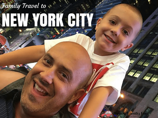 Family Travel to New York City Series