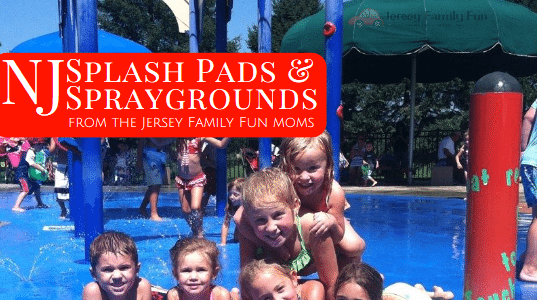 New Jersey Splash Pads & Spraygrounds by County