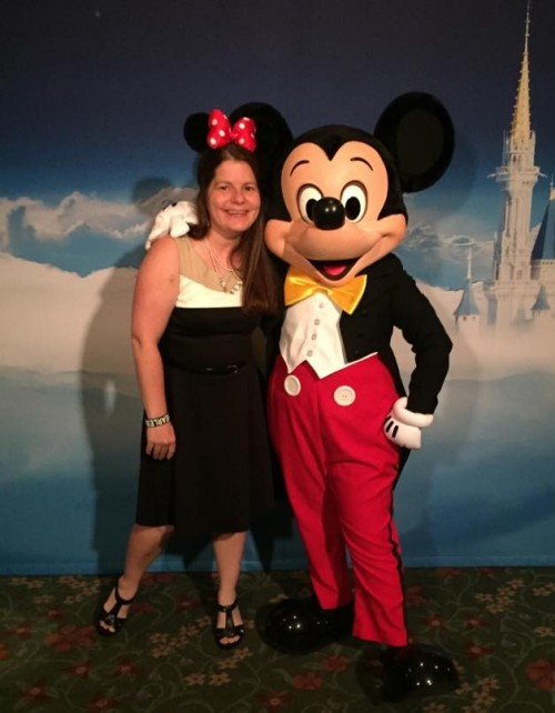 I did NOT miss hanging out with Mickey Mouse.
