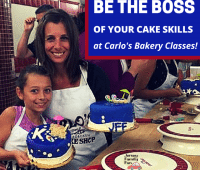 Carlos Bakery Cake Classes