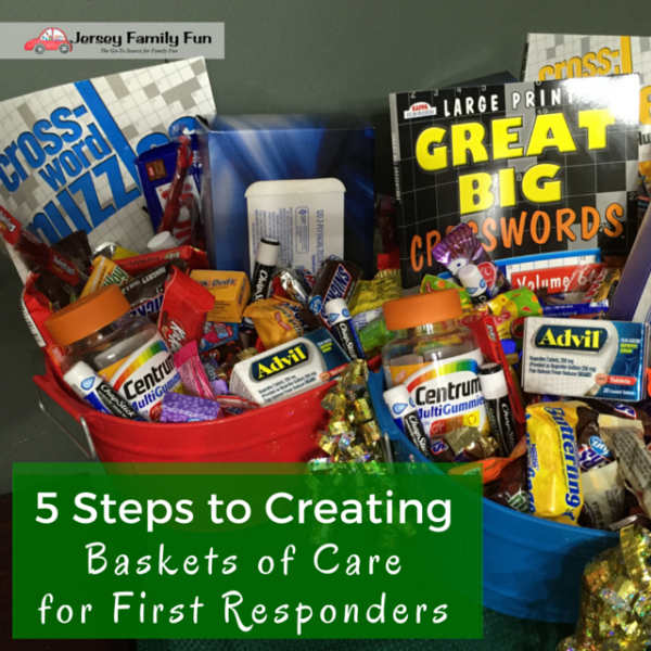 5 Steps To Creating Baskets Of Care For First Responders
