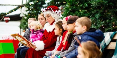 johnson's corner farm mrs claus