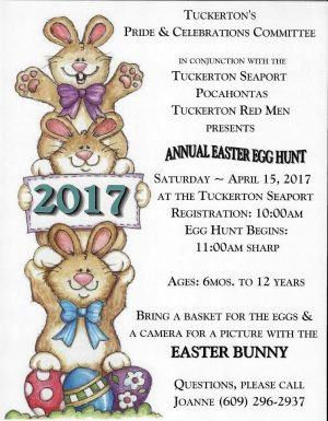 New Jersey Easter Egg Hunts at Tuckerton Seaport Egg Hunt in Tuckerton New Jersey