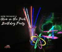 Glow in the Dark Birthday Party