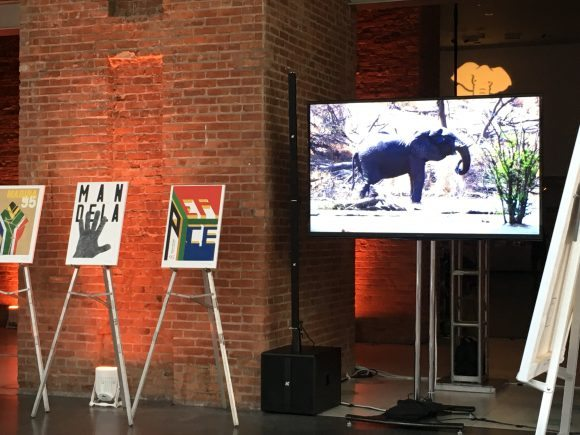 Mandela Project Posters, and a video of the Kalahari team's visit to Africa
