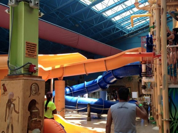 The Tut Twisters Water Slide