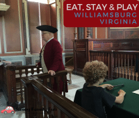 Family Travel to Williamsburg Virginia