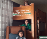 favorite family moments Hyatt Regency Chesapeake Bay Resort
