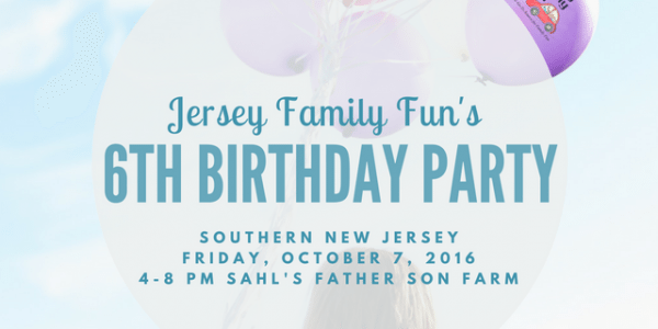 Jersey Family Fun's 6th Birthday Party ~ Southern New Jersey