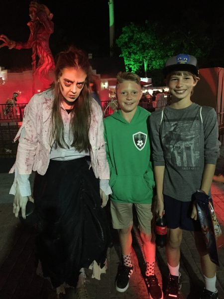 Six Flags Great Adventure Fright Fest Fright After Dark Bloody Mountain Mummy