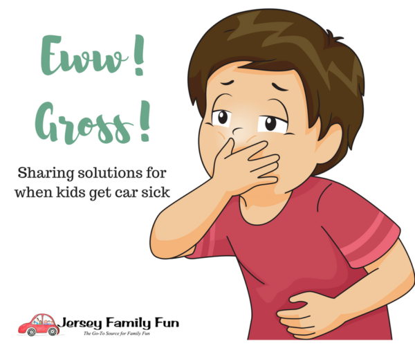Sharing solutions for when kids get car sick