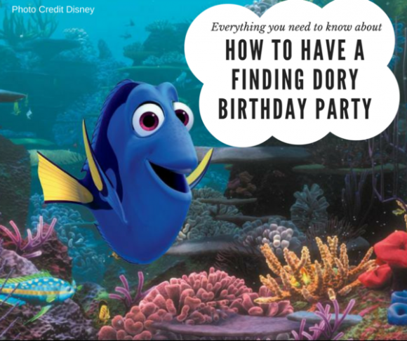 How to have a Finding Dory Birthday Party