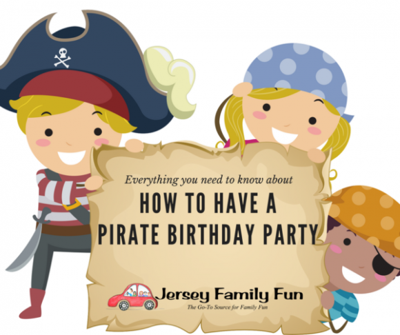 How to Have a Pirate Birthday Party