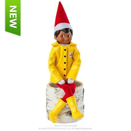 Elf on the Shelf outfits Elf on the Shelf Claus Couture Caroling in the Raincoat