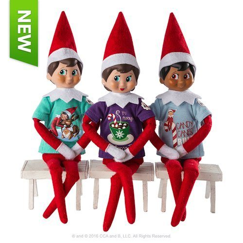 Elf on the Shelf outfits Elf on the Shelf Claus Couture Sweet Tees Multipack