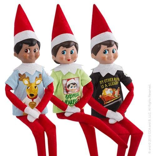 Elf on the Shelf Outfits Elf on the Shelf Graphic Tee Multipack Express Yourself Novelty
