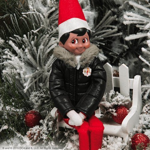 Elf on the Shelf Outfits Elf on the Shelf Puffy North Pole Parka