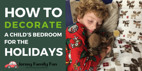 How to decorate a child's bedroom for the holidays Boscov's Home Decor