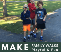 7 Ways to Make Family Walks Playful & Fun