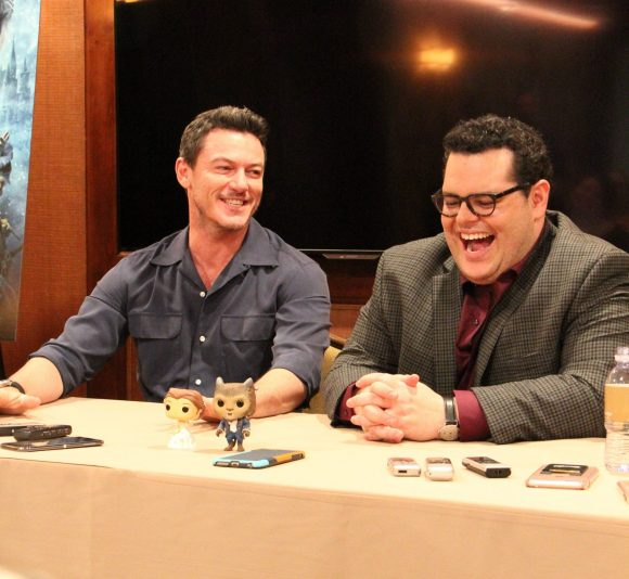Beauty and the Beast Luke Evans and Josh Gad