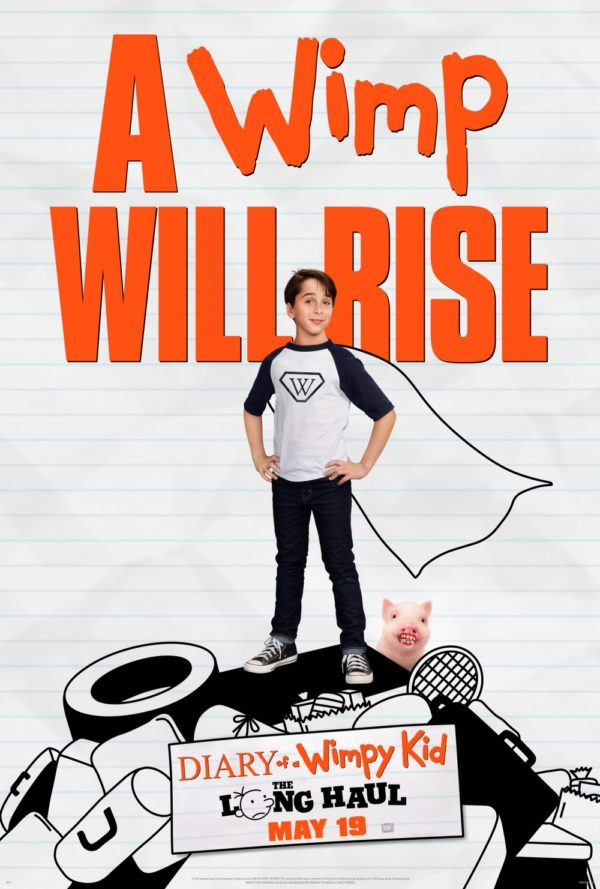 DIARY OF A WIMPY KID: THE LONG HAUL movie poster